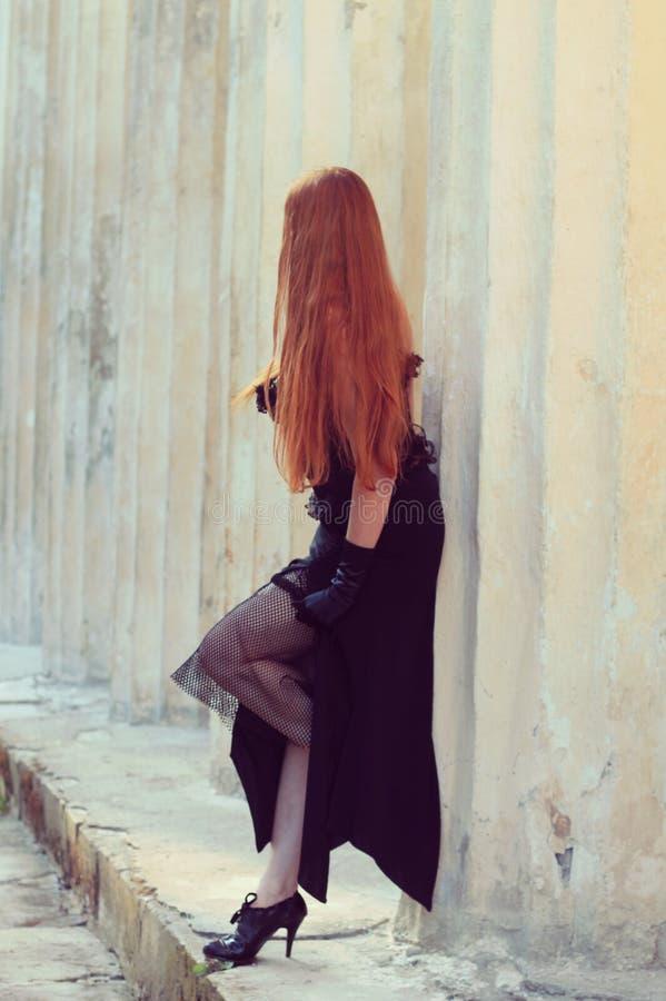 Девушка Goth стоковая фотография rf