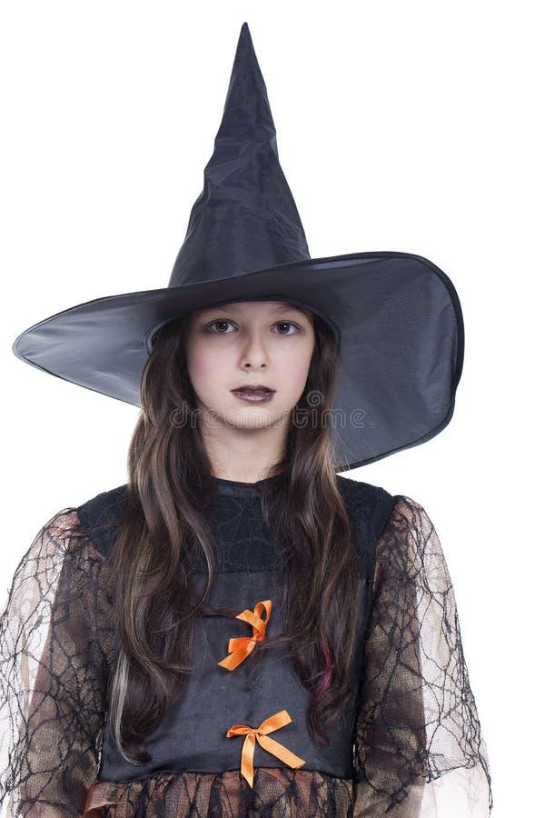 девушка halloween costume стоковая фотография rf