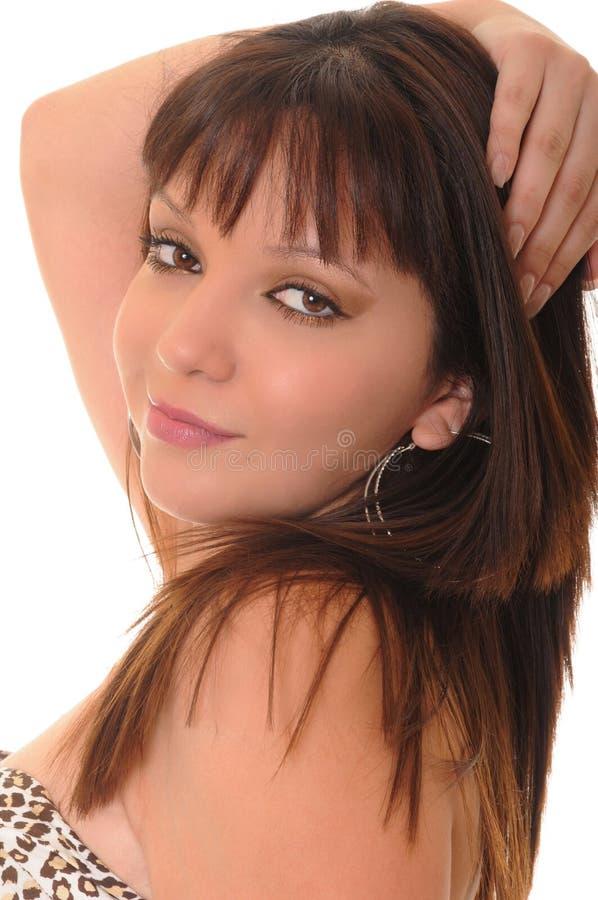 девушка latina симпатичный стоковое фото