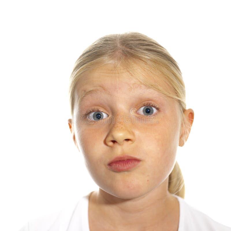 Download девушка S выразительной стороны Стоковое Фото - изображение насчитывающей бело, интересовать: 483132