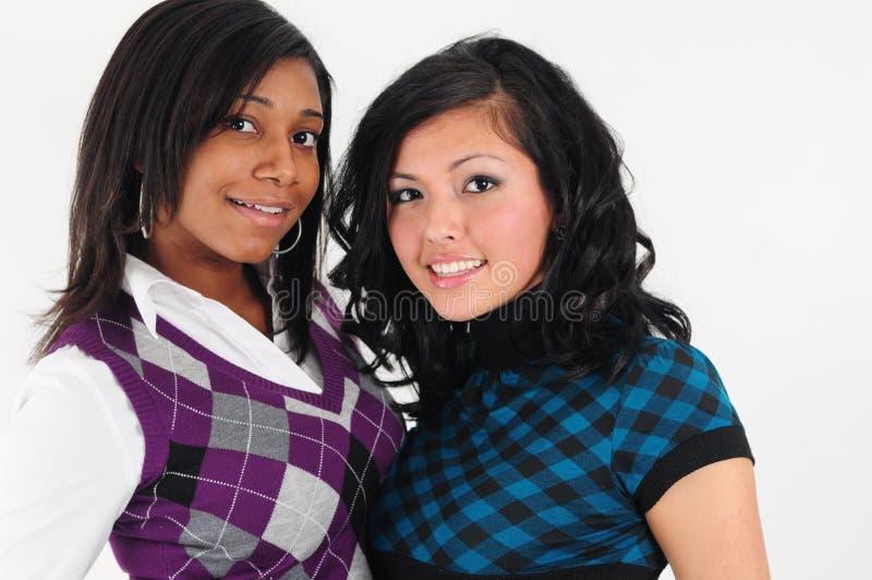 девушки молодые стоковое фото