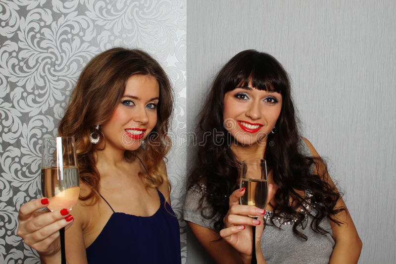 Девушки очарования стоковая фотография rf