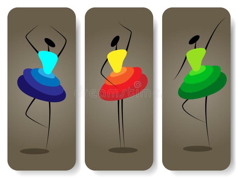 девушки танцы бесплатная иллюстрация