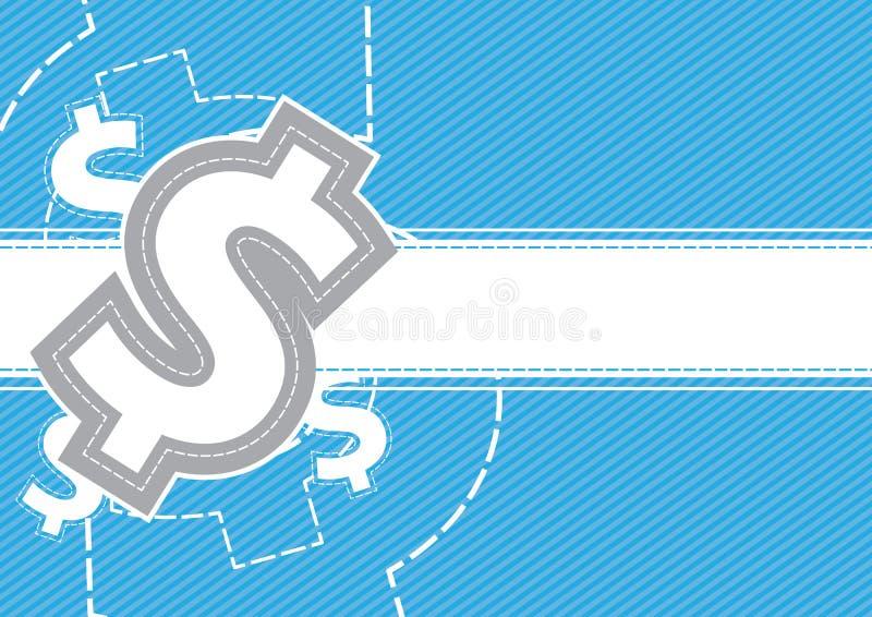 Дег доллары конструкции предпосылки иллюстрация штока