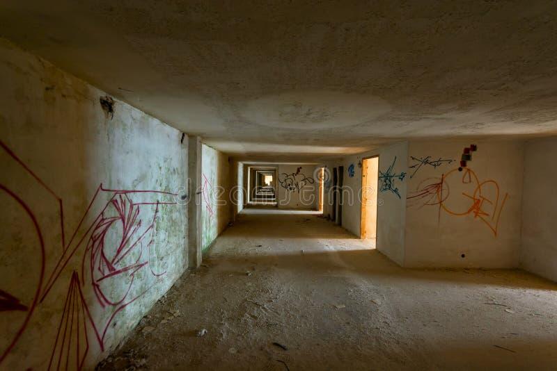 Дезертированная гостиница стоковое изображение