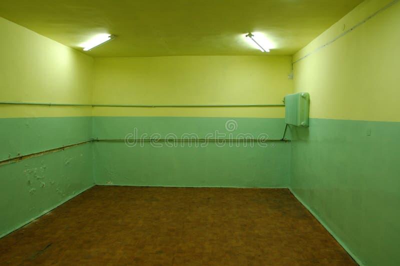 дезертированная комната стоковые фото