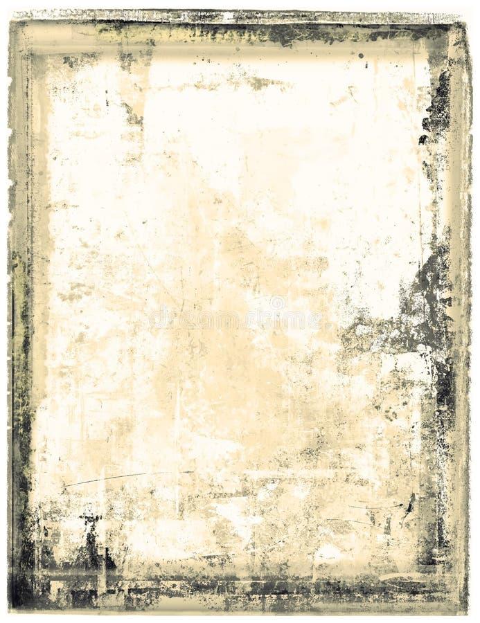 дезинтегрируя moldy бумага иллюстрация вектора
