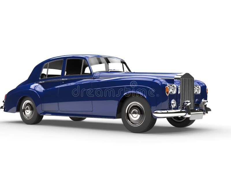 Действительно холодный голубой автомобиль oldtimer бесплатная иллюстрация