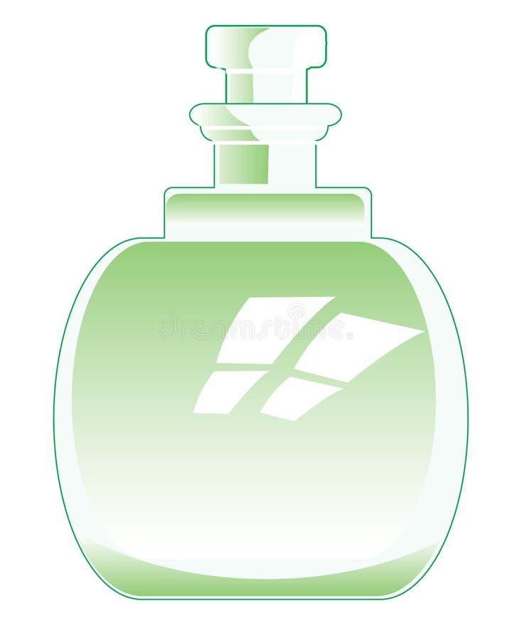 Декоративная бутылка бесплатная иллюстрация