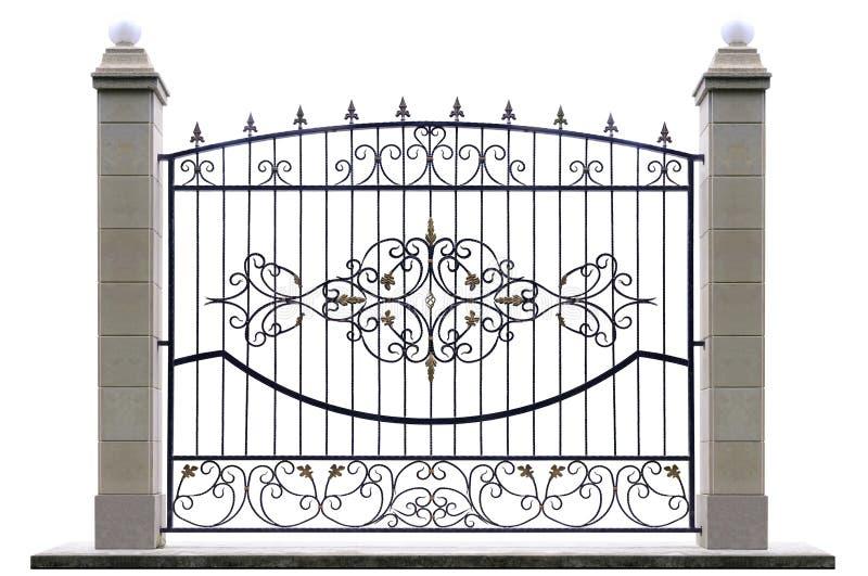Download Декоративная загородка с штендером Стоковое Фото - изображение насчитывающей boris, штендер: 41657120