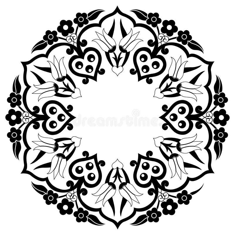 Декоративная предпосылка 36 иллюстрация вектора