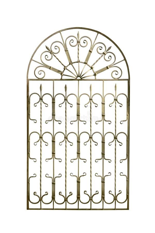 Декоративная решетка для окон стоковая фотография rf
