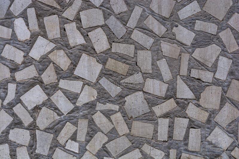 Декоративная стена в форме плиток летучей мыши стоковые изображения rf