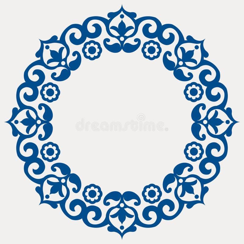 декоративная флористическая гирлянда иллюстрация штока