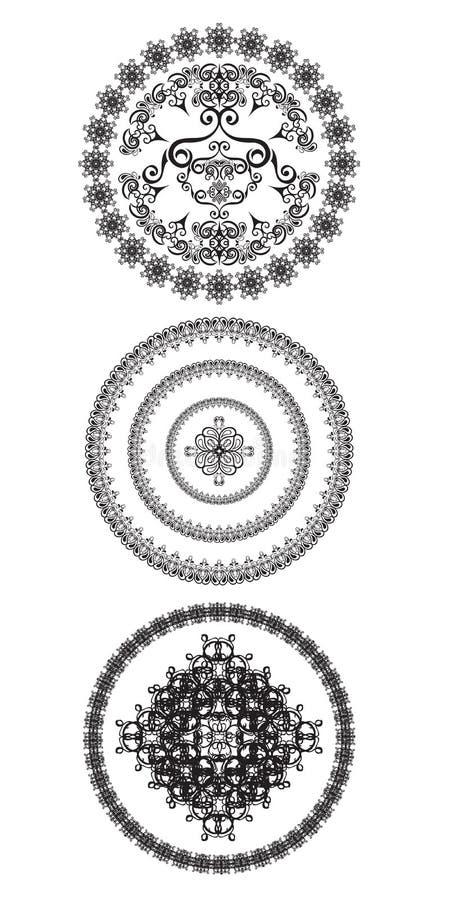 Декоративные круги бесплатная иллюстрация