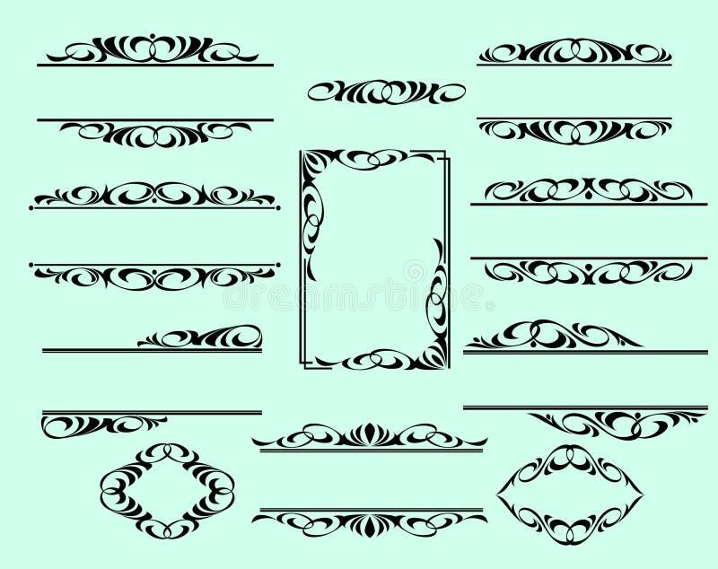Декоративные рамки границ бесплатная иллюстрация