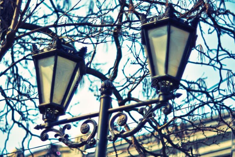 Декоративные уличные светы 014 стоковая фотография rf