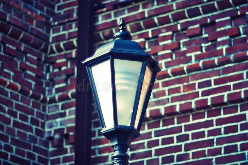 Декоративные уличные светы 017 стоковое изображение rf
