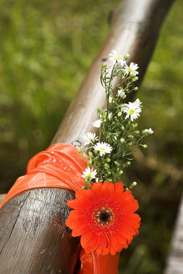 Декоративные цветки стоковые изображения rf