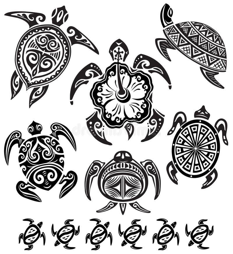 декоративные черепахи иллюстрация штока