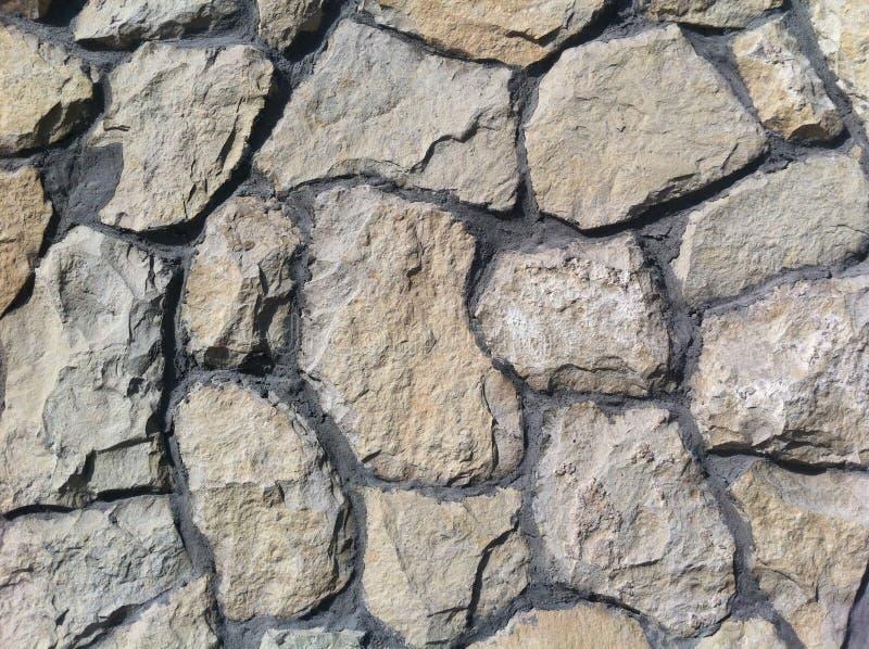 декоративный естественный камень Естественное украшение фасада дома, строя иллюстрация штока