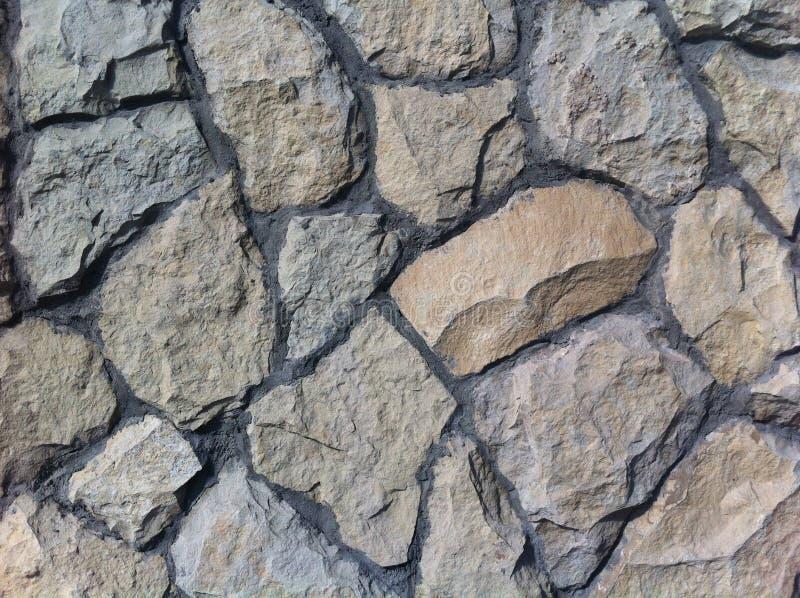 декоративный естественный камень Естественное украшение фасада дома, строя бесплатная иллюстрация