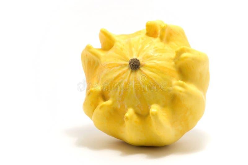декоративный желтый цвет тыквы стоковое изображение