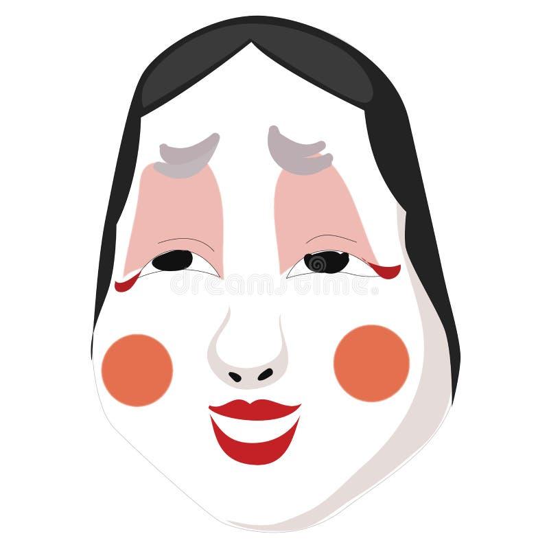 Декоративный лицевой щиток гермошлема с ярким составом изолированный на белой предпосылке также вектор иллюстрации притяжки corel иллюстрация штока
