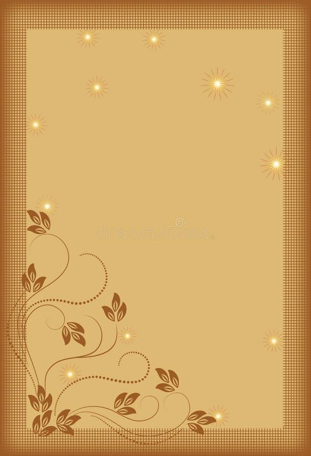 Download декоративный орнамент иллюстрация вектора. иллюстрации насчитывающей tendril - 18391350