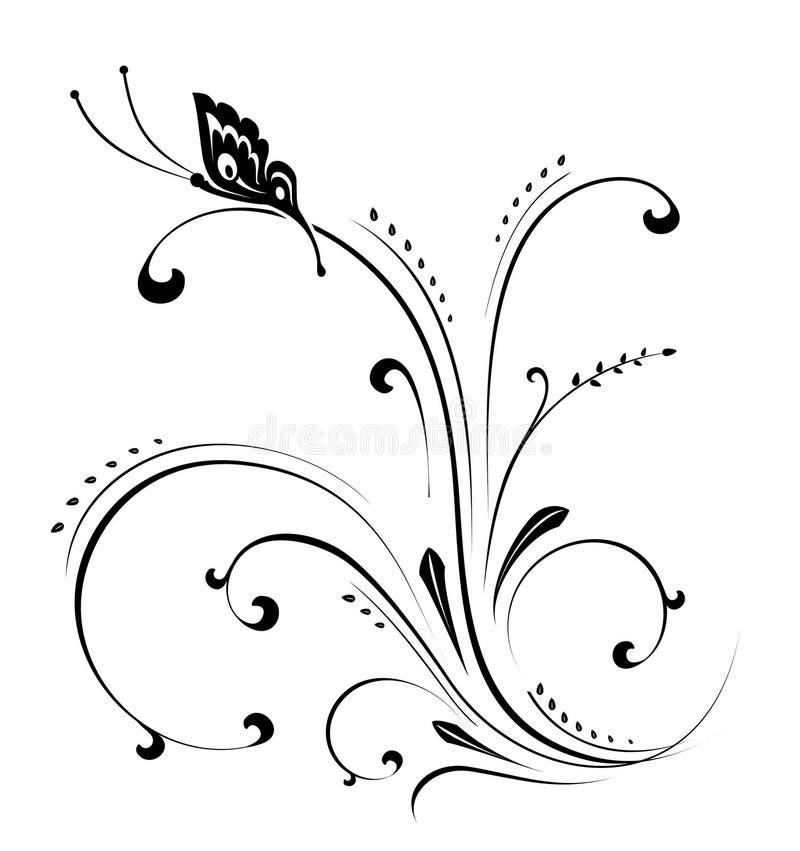 декоративный орнамент иллюстрация вектора