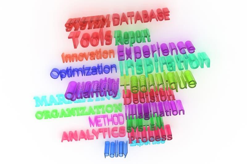Декоративный, оформление CGI иллюстраций, дело связало ключевые слова, для предпосылки текстуры дизайна иллюстрация штока