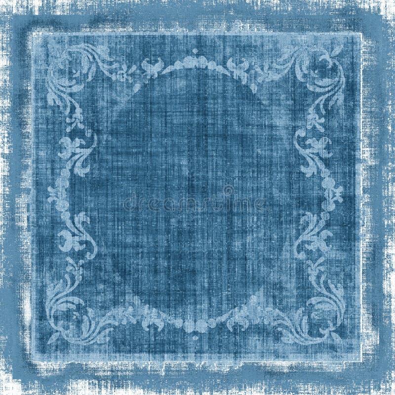 декоративный сбор винограда grunge ткани иллюстрация штока