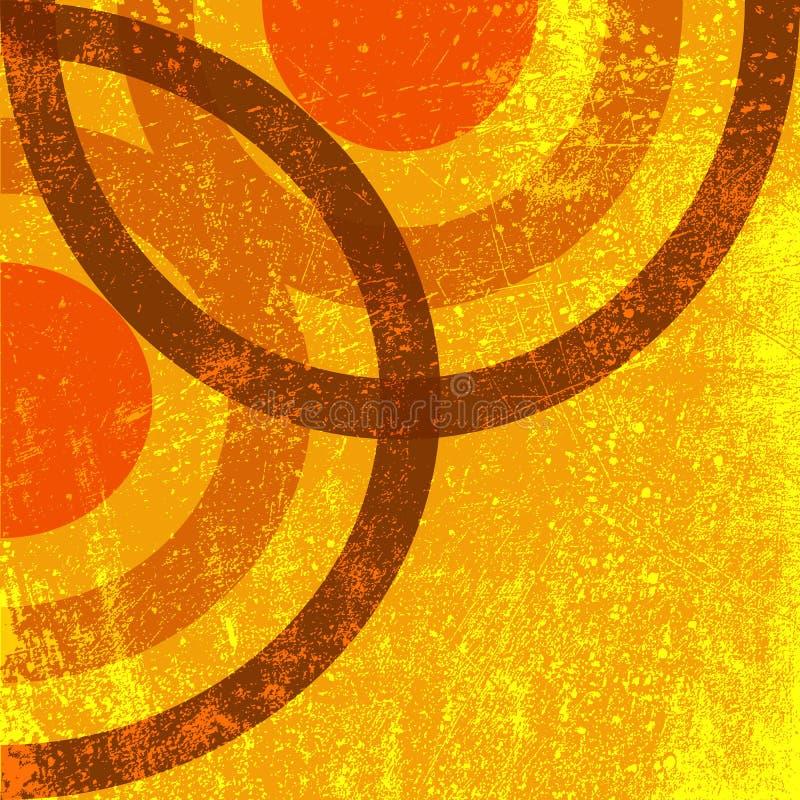 Декоративный угол Grunge бесплатная иллюстрация