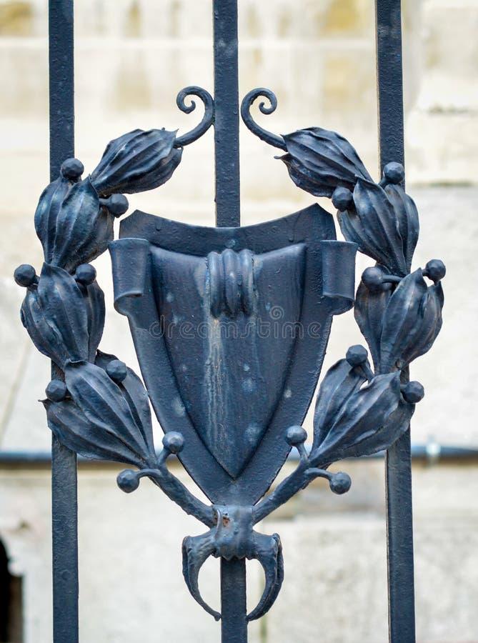 Декоративный утюг стоковое изображение rf