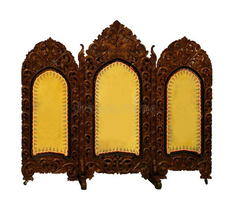 Декоративный экран стоковая фотография