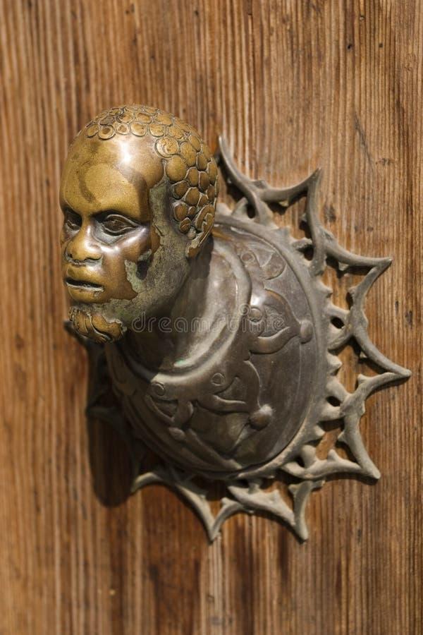 декоративный doorknob стоковые изображения rf