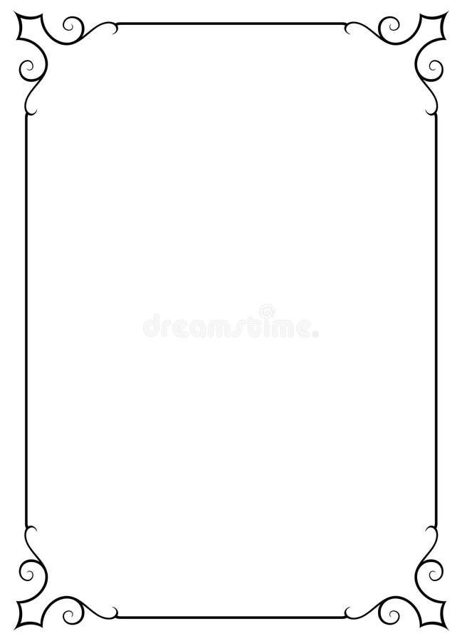 декоративный jpg рамки eps иллюстрация вектора
