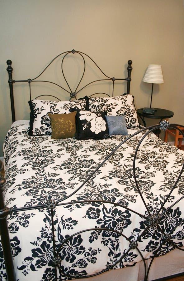 декор спальни стоковая фотография rf