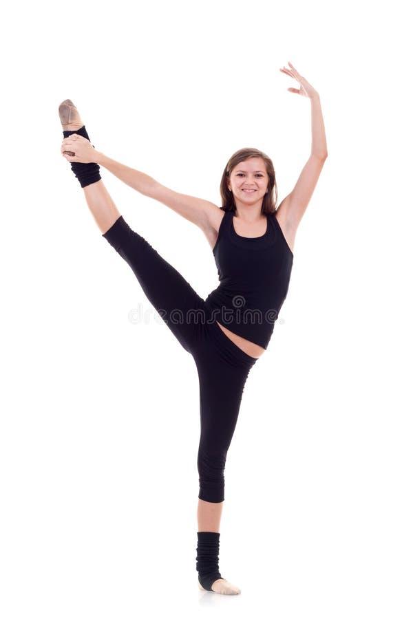 делать женщину гимнастики стоковые изображения