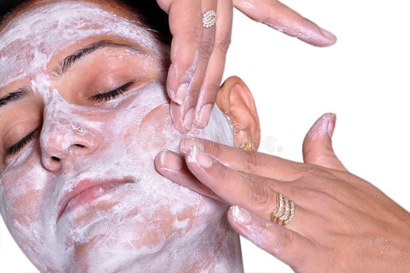 делать женщин массажа стоковое изображение rf