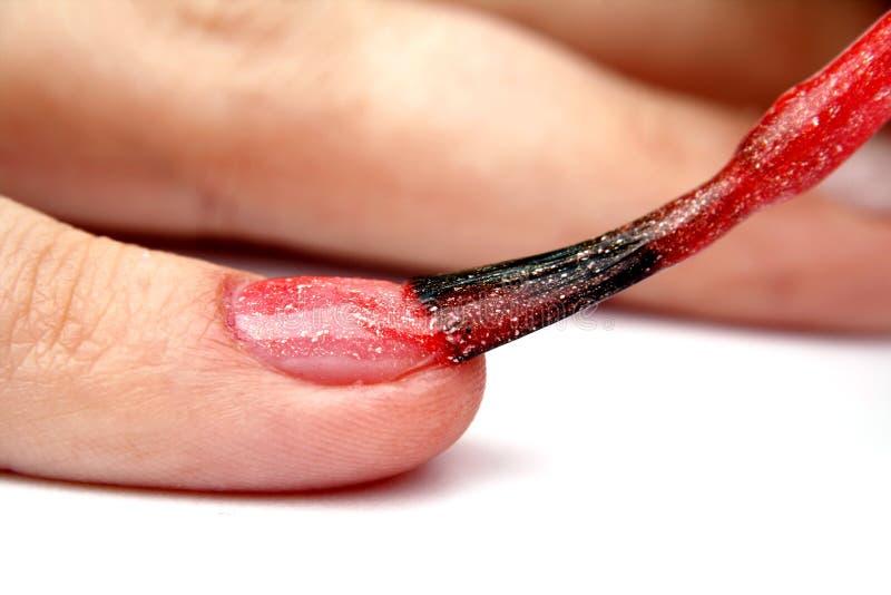 делать ногти стоковое изображение rf