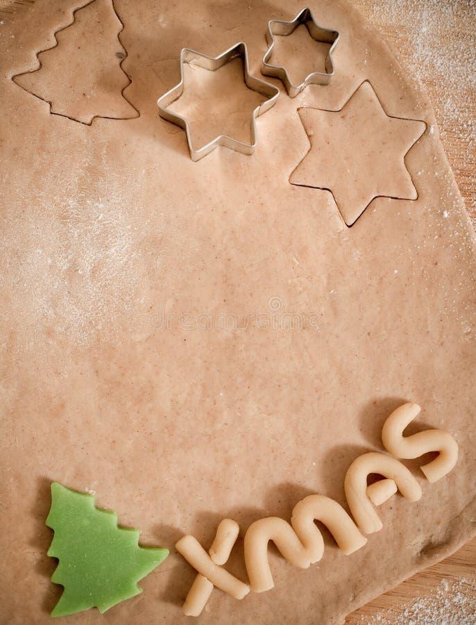 делать печений рождества стоковое фото rf