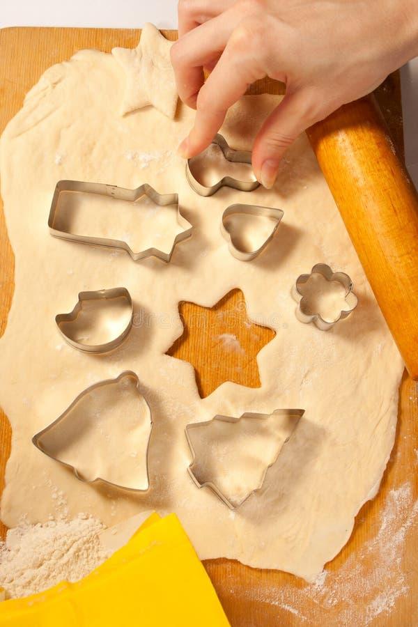 Делать печенья стоковая фотография