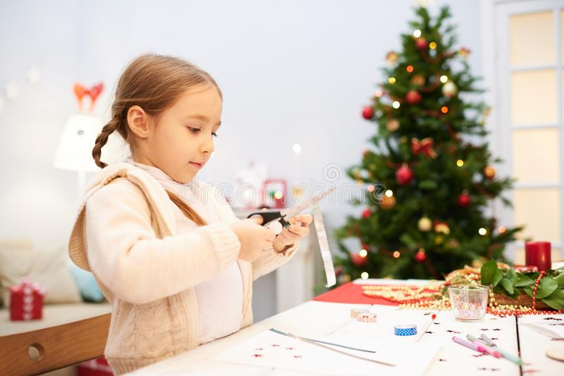 Делать подарок на рождество идей стоковое фото