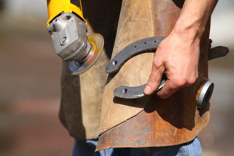 делать подков blacksmith стоковые фото
