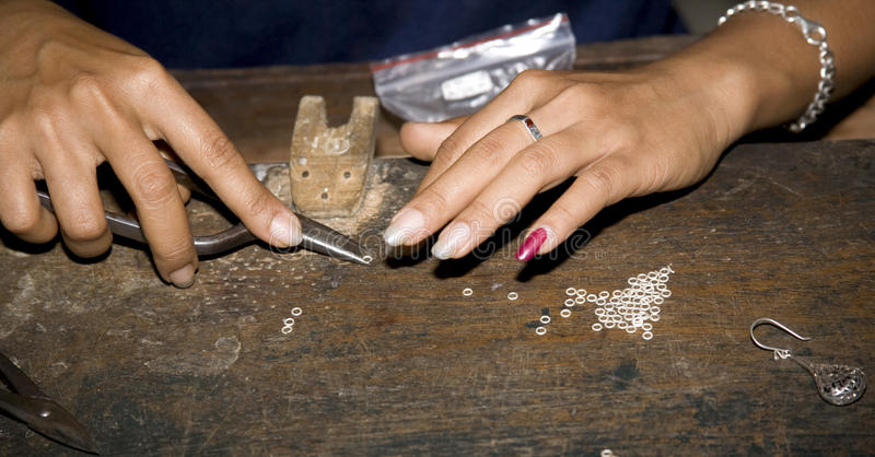 делать jewellery стоковые фото