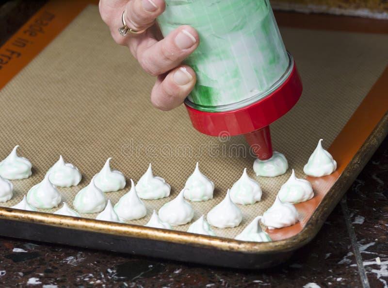делать meringues стоковые фото
