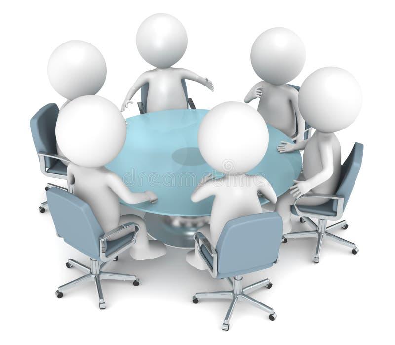 деловая встреча бесплатная иллюстрация