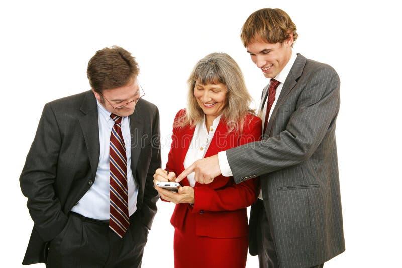 деловая игра играет команду стоковая фотография