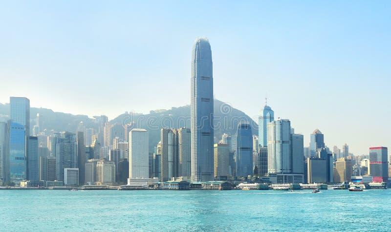 Деловый центр HK стоковые фото